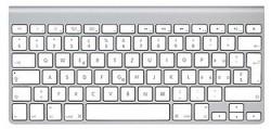 Apple Wireless Keyboard, alu